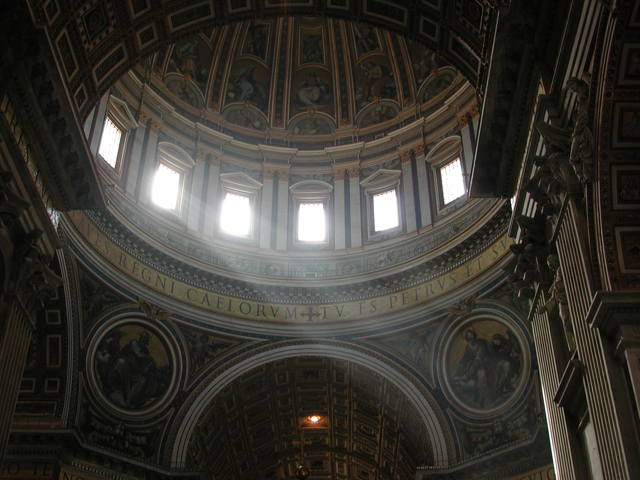 Some great light in an Italian cathedral.