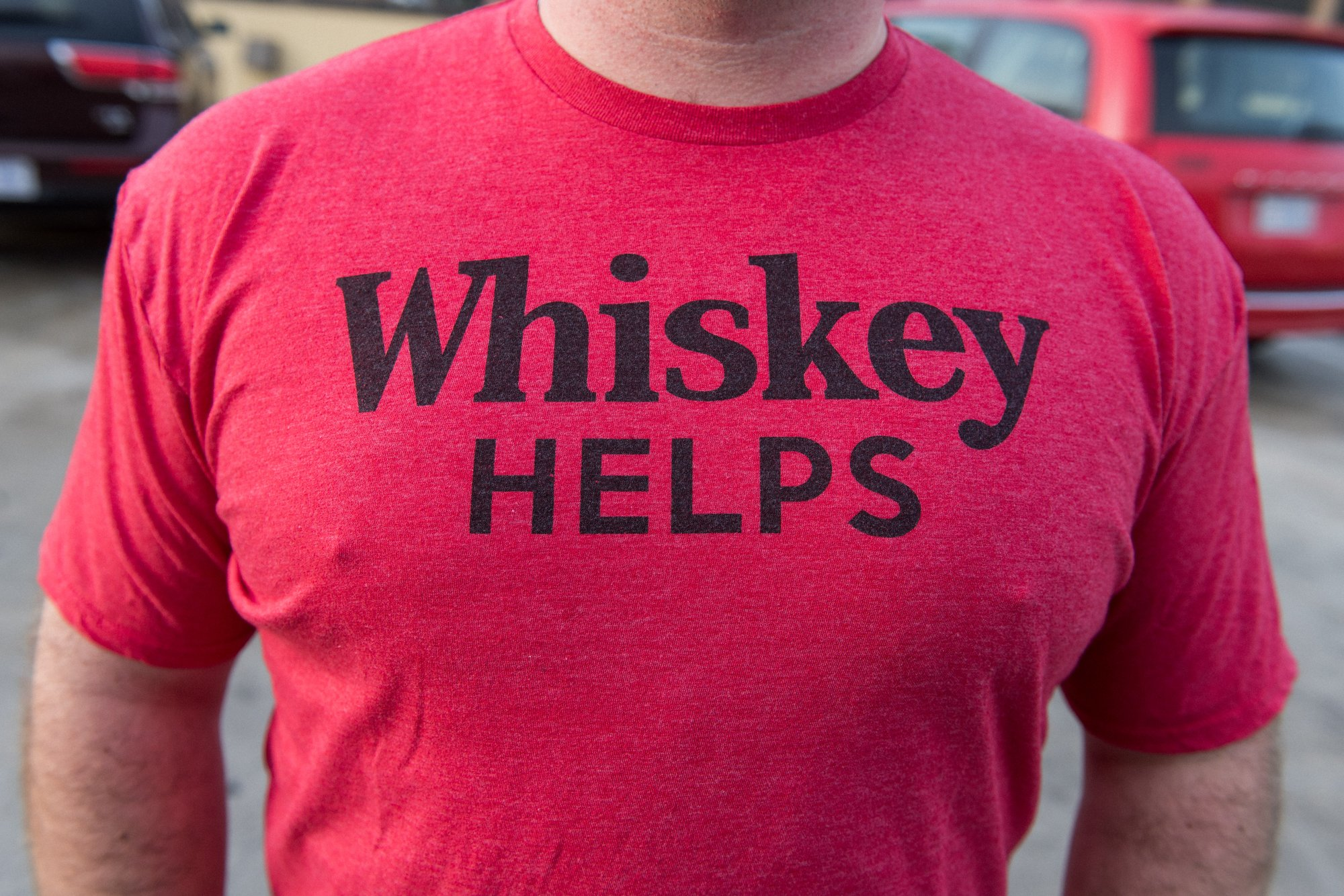 Washington, DC Same Sex Engagement Shoot - Whiskey Helps t-shirt