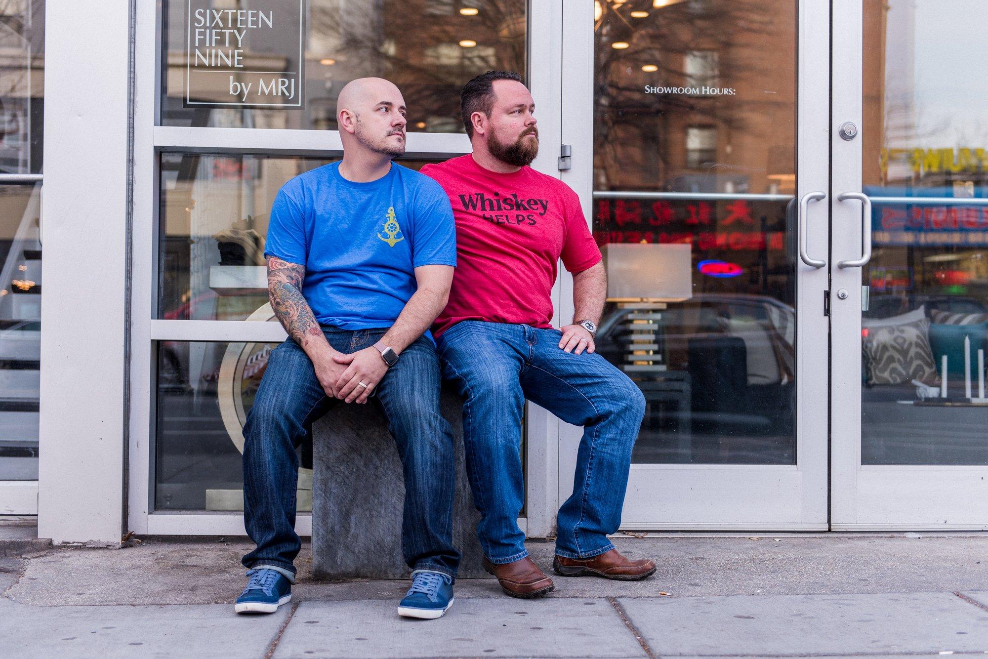 Washington, DC Same Sex Engagement Shoot - Logan Circle.