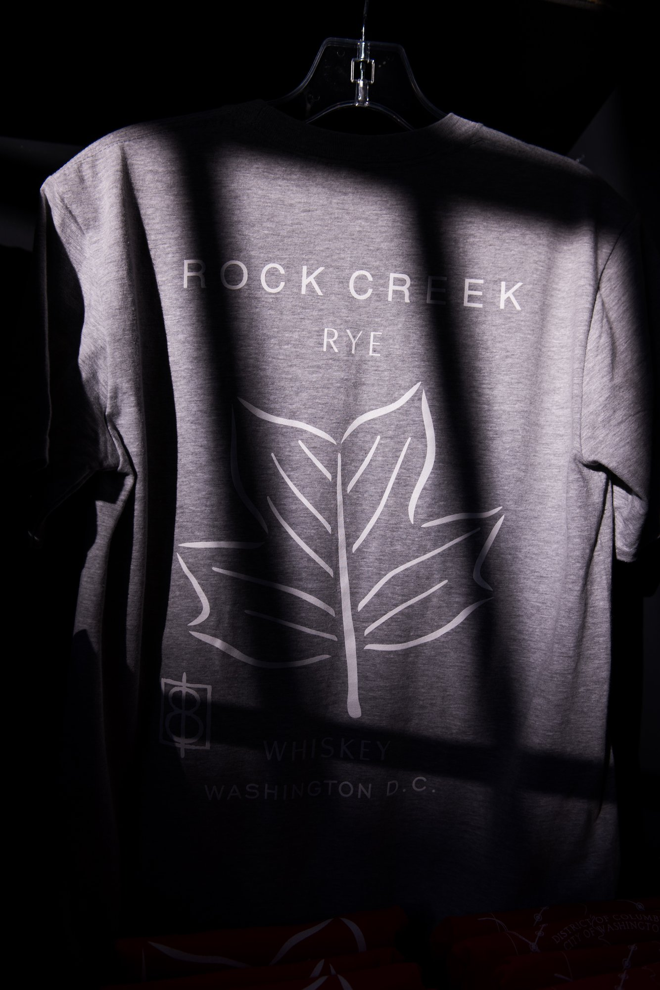 One Eight Distillery's Rock Creek Rye T-shirt