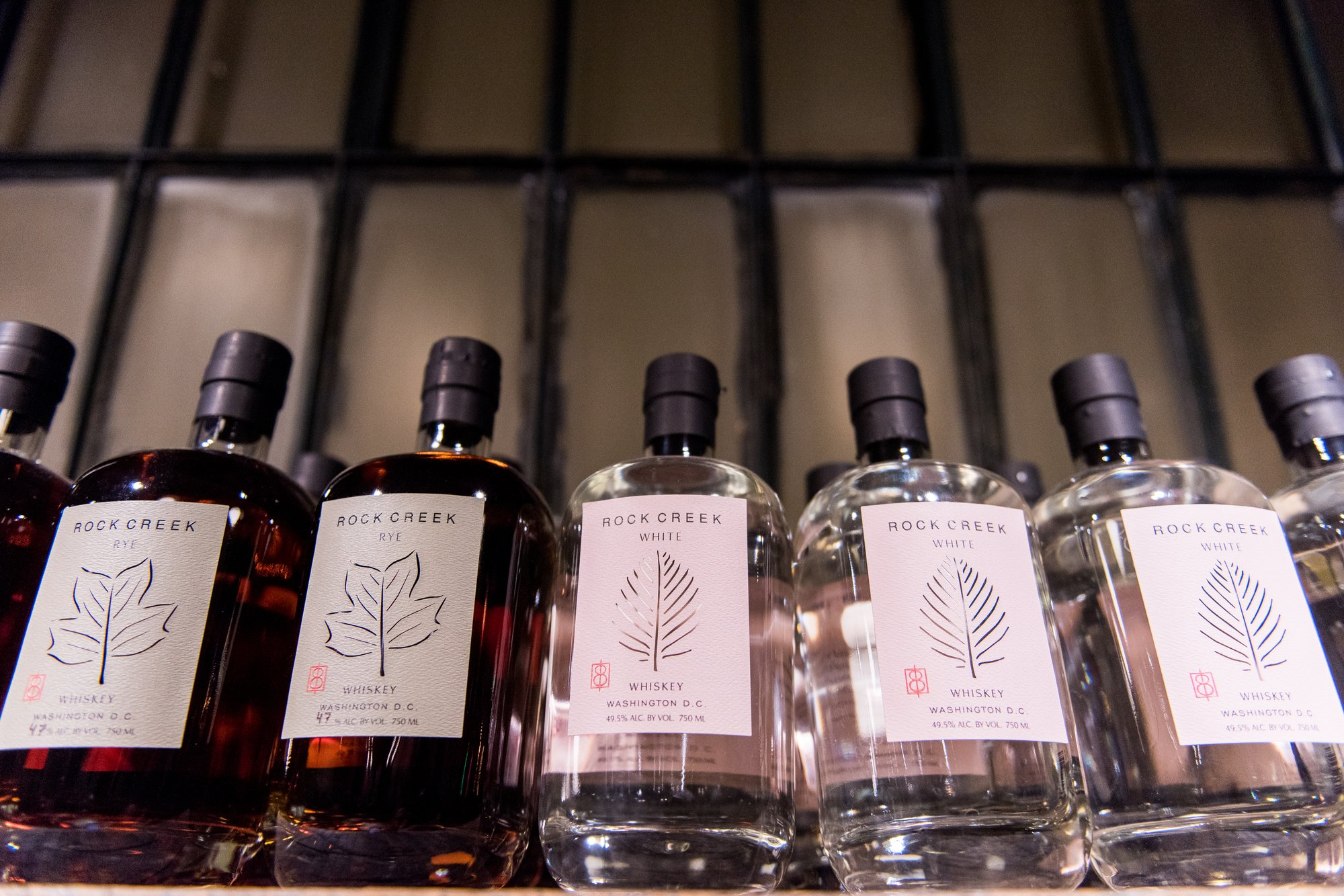One Eight Distilling Whiskey and Rye made in Ivy City, Washington, DC